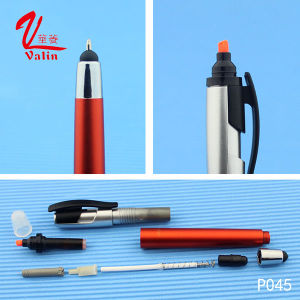 Low Price Promotional Highlighter Pen Wholesale Touch Screen Ballpoint Pen on Sell pictures & photos