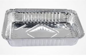 Eco-Friendly Aluminum Foil Container with Light Weight pictures & photos