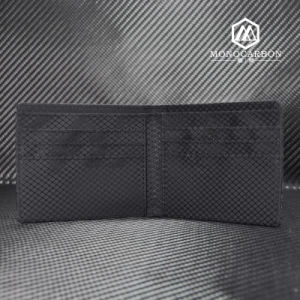 High Quality Best Selling Carbon Fiber Short Folio Wallet pictures & photos