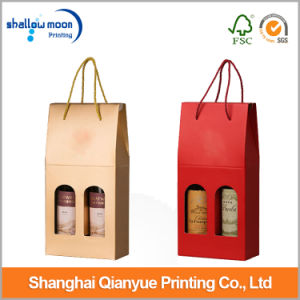 Customized Printing Corrugated Paper Wine/Olive Packaging Box (QYCI1533)