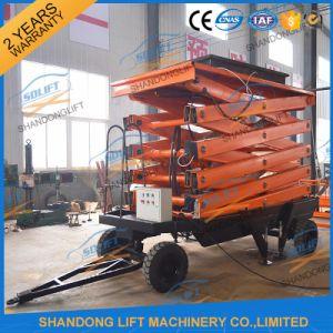 Indoor Hydraulic Scissor Lift Ladder pictures & photos
