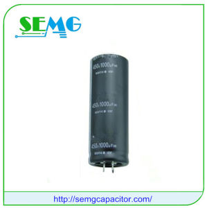 6800UF 350V Aluminum Electrolytic Starting Capacitor Fan Capacitor pictures & photos