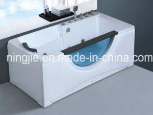 Economical Acrylic White Whirlpool Massage Bathtub Nj-3052 pictures & photos