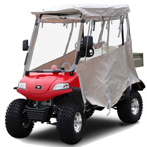 Electric Cargo Hopper /Golf Buggy 2seat, Rain Cover pictures & photos