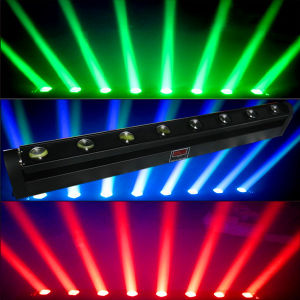 Stage Moving Light 10W*8PCS 4in1 LED Disco Beam Light pictures & photos