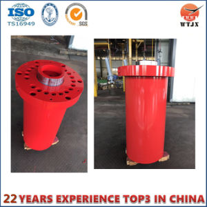 Multi-Stage Telescopic Hydraulic Cylinder for Construction Equipment pictures & photos