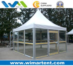 Chinese Pagoda, 6X6 Pagoda Tents for Glass Wall pictures & photos