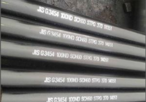 JIS G3454 Stpg370, Stpg410 Carbon Steel Pipes for Pressure Service pictures & photos