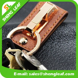 Promotional Hot Sale PU Leather Key Chain (SLF-LK003) pictures & photos
