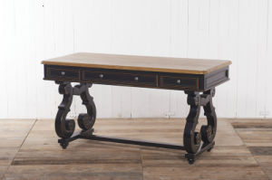 Clever and Specially Desk Antique Furniture with Drawers pictures & photos