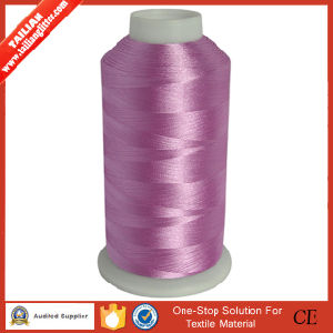 Wholesale Dyed 100% Rayon Embroidery Thread pictures & photos