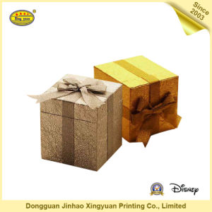 Paper Packaging Gift Box with Ribbon (JHXY-PB0015)