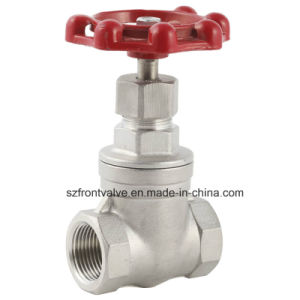 Investment Casting Stainless Steel Screwed Gate Valve pictures & photos