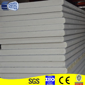 Prepainted Color Steel PU Sandwich Panel for Wall pictures & photos