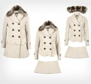 Fashion Winter Women Coat with Fur (MU7895-2) pictures & photos