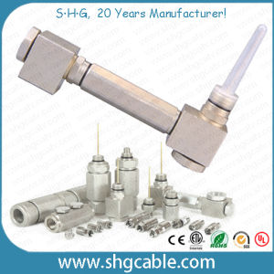 180 Degree Aluminum Pin Connector for Trunk Coaxial Cable Qr540 P3 500 (TC20) pictures & photos