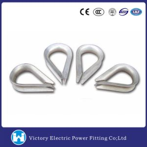 High Quality Hot DIP Galvanized Thimble Clevis for Guy Grip Cable Clamp Overhead Line Fitting pictures & photos