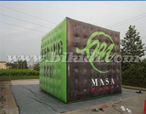 Outdoor Cube Inflatable Advertising Flying Helium Balloon for Promotion K7166 pictures & photos