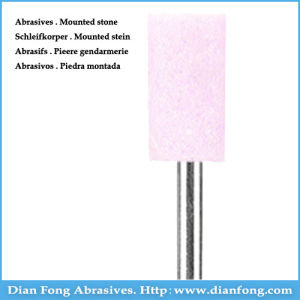 P-06 Cylindrical Shape Pink Mounted Stone Carving Tools pictures & photos