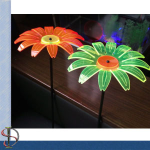 Plastic Garden Flower with Fluorescence