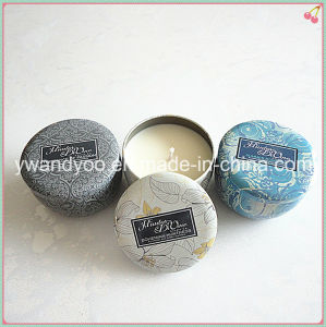 Hot Sale Natural Scented Soy Tin Candle pictures & photos