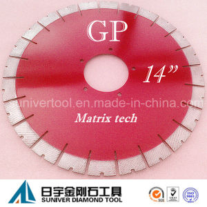 """Gp14""""*25mm Granite/ Natural Stone Cutting Saw Blade pictures & photos"""
