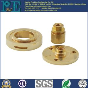 Customized Brass CNC Lathe Washer Connectors Parts pictures & photos