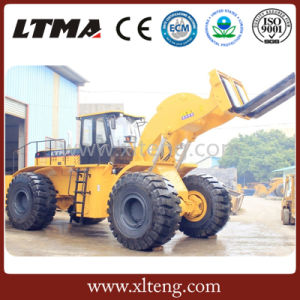 Ltma Stone Block Handle 40 Ton Forklift Wheel Loader pictures & photos