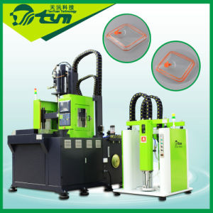 LSR Injection Molding Machine for Glass Combine with Silicone