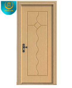 Modern Style Red Brown Colour MDF Door pictures & photos