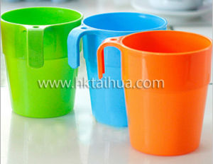 Promotional Custom Easy Carry Plastic Cup with Thp-019 pictures & photos