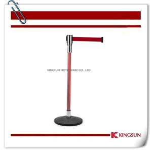 Red Pole Acrylic Crowd Control Barrier pictures & photos
