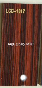 Decoration Material Glossy MDF Sheet (LCC-1017) pictures & photos