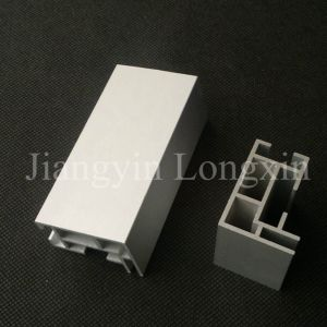 Silver Anodized Aluminum Profile for Exhibition pictures & photos