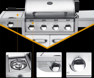 Wholesale Outdoor Kitchen BBQ Gas Grill 5burners pictures & photos