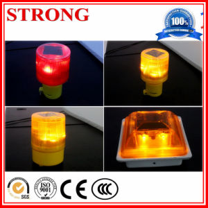 Solar Warning Light, Solar Traffic Cone Light, Solar LED Flashing Light pictures & photos