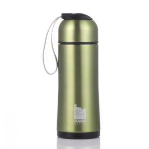 260ml 304 Stainless Steel Vacuum Cup with Rope Handle