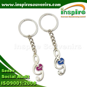 Music Couple Key Chain for Souvenir (KC821) pictures & photos