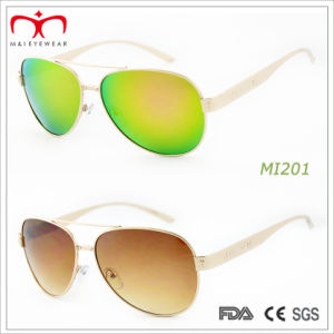 2015 Latest Fashion Design Metal Sunglasses (MI201&MI202) pictures & photos