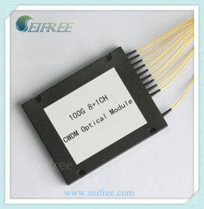 8+1 Channels Fiber Optic CWDM (mux/demux) pictures & photos