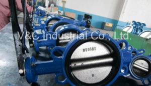 API609 Lever Wafer Butterfly Valve with EPDM Seal pictures & photos