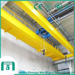 Wire Rope Hoist as Lifting Mechanism Double Girder Overhead Crane pictures & photos