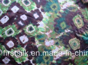 100%Silk Silk Satin Digial Printing Fabric pictures & photos
