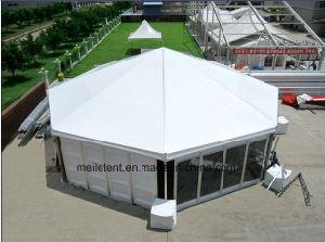 Aluminum Frame Water-Fire-Proof 10m Diameter Wedding Hexagonal Pagoda Tent pictures & photos
