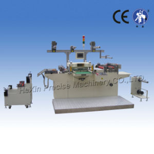 Foil Flatbed Label Die Cutting Machine (with lamination, sheeting, waste discharge) pictures & photos