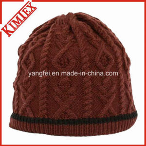 Handmade Knitted Warm Winter Beanies Cap pictures & photos