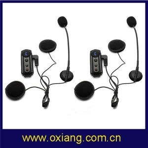 2*1000 Meters Motorcycle&Bike Helmet Bluetooth Headset Intercom pictures & photos