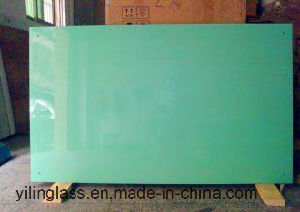 4mm Color Ceramic Frit Toughened Glass for Writing Board pictures & photos