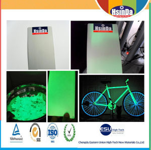 Thermosetting Electrostatic Spray Glow in The Dark Effect Powder Coating pictures & photos