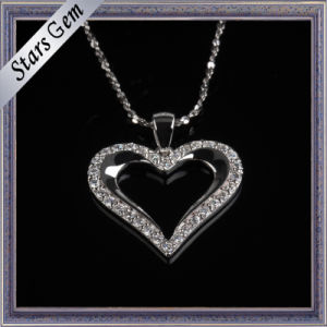 Romatic Heart Shape Cubic Zirconia Necklace Fashion Jewellry pictures & photos